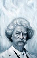 Mark Twain by carts