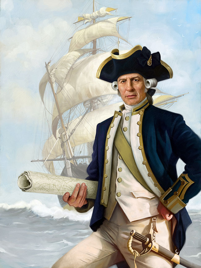 James cook texags any relation to captain james cook sciox Images