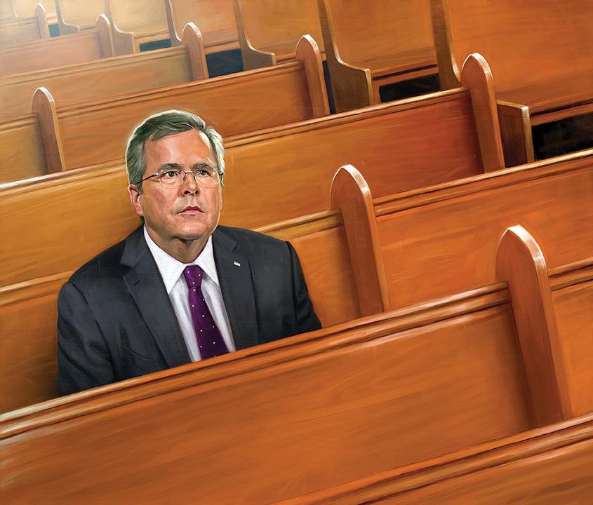 Jeb Bush by carts