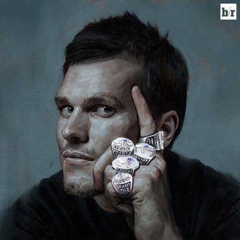 Tom Brady by carts