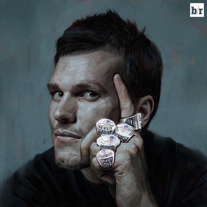 Tom Brady by carts