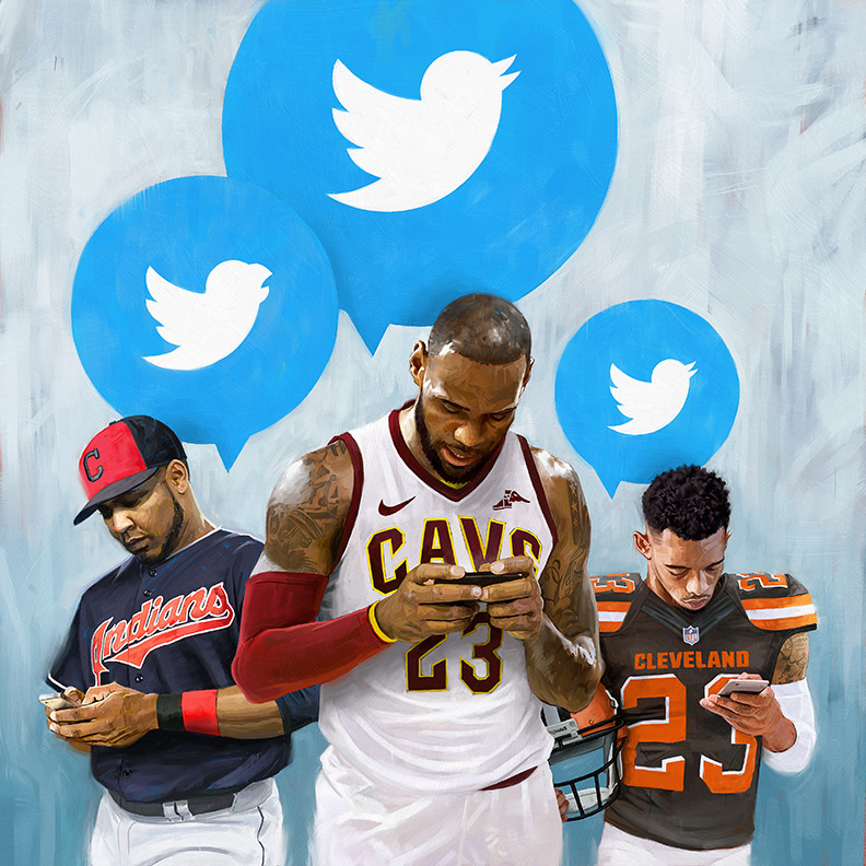 Cleveland Tweets by carts