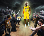 The King Exits Cleveland