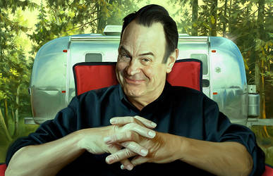 Dan Aykroyd by carts