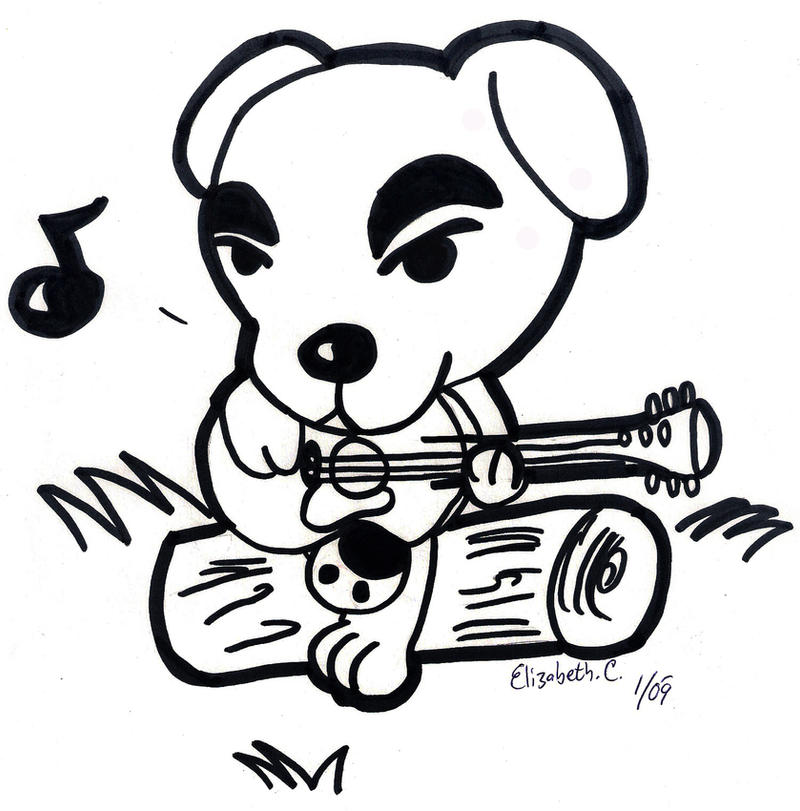 Animal Crossing: K.K. Slider by LizDraws on DeviantArt