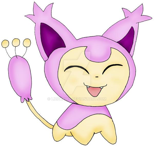 Pokemon skitty by lizdraws on deviantart - Pokemon skitty ...