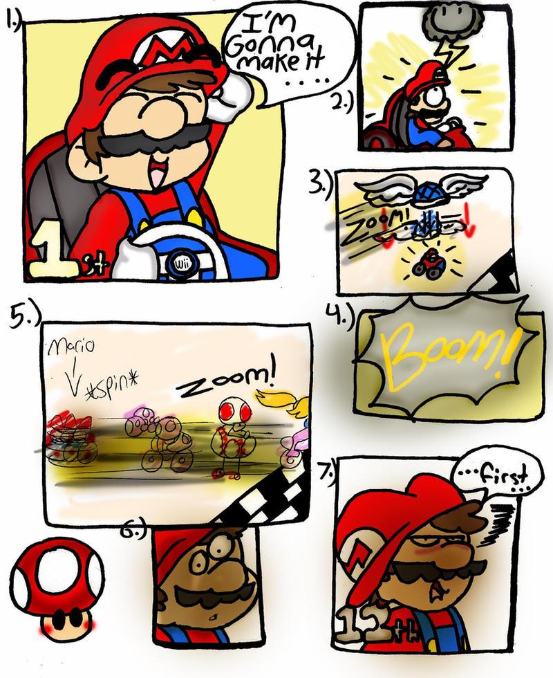 kart i Mario Kart: I'm gonna win by LizDraws on DeviantArt kart i