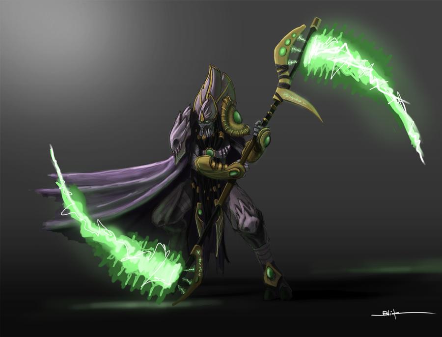 Protoss Dark Templar by sanggene