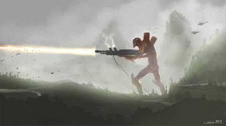 EVA 02 Beam Cannon