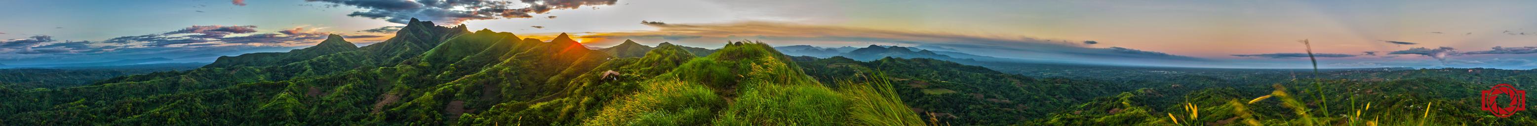 Sunset at Mt. Batulao by JdelosSantos