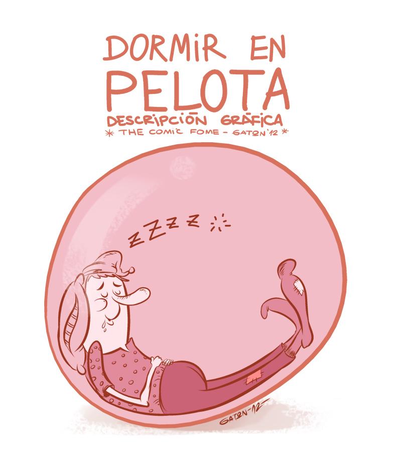 dormir en pelota by gaton-comix