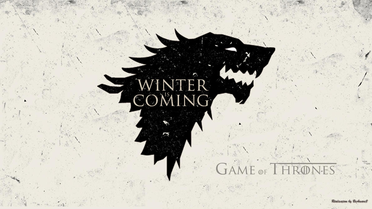 Game Of Thrones Wallpaper Wolf Stark by BeAware8