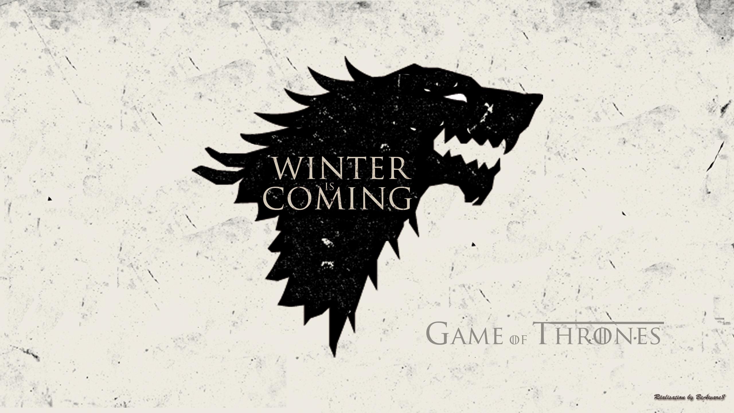 Game Of Thrones Wallpaper Wolf Stark By Beaware8 On Deviantart