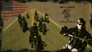 Sons Of Anarchy Wallpaper on the road