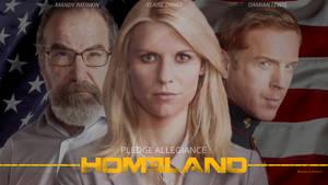 Homeland - Pledge allegiance