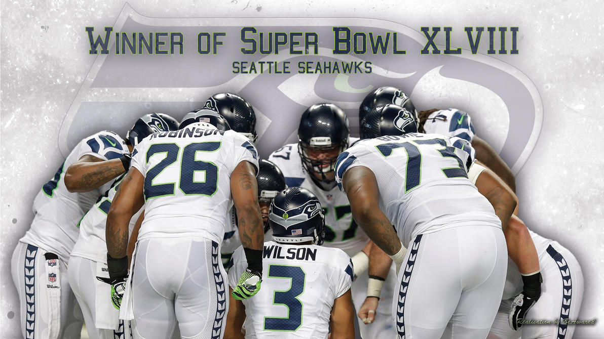 Seattle Seahawks Winner Super Bowl XLVIII By BeAware8