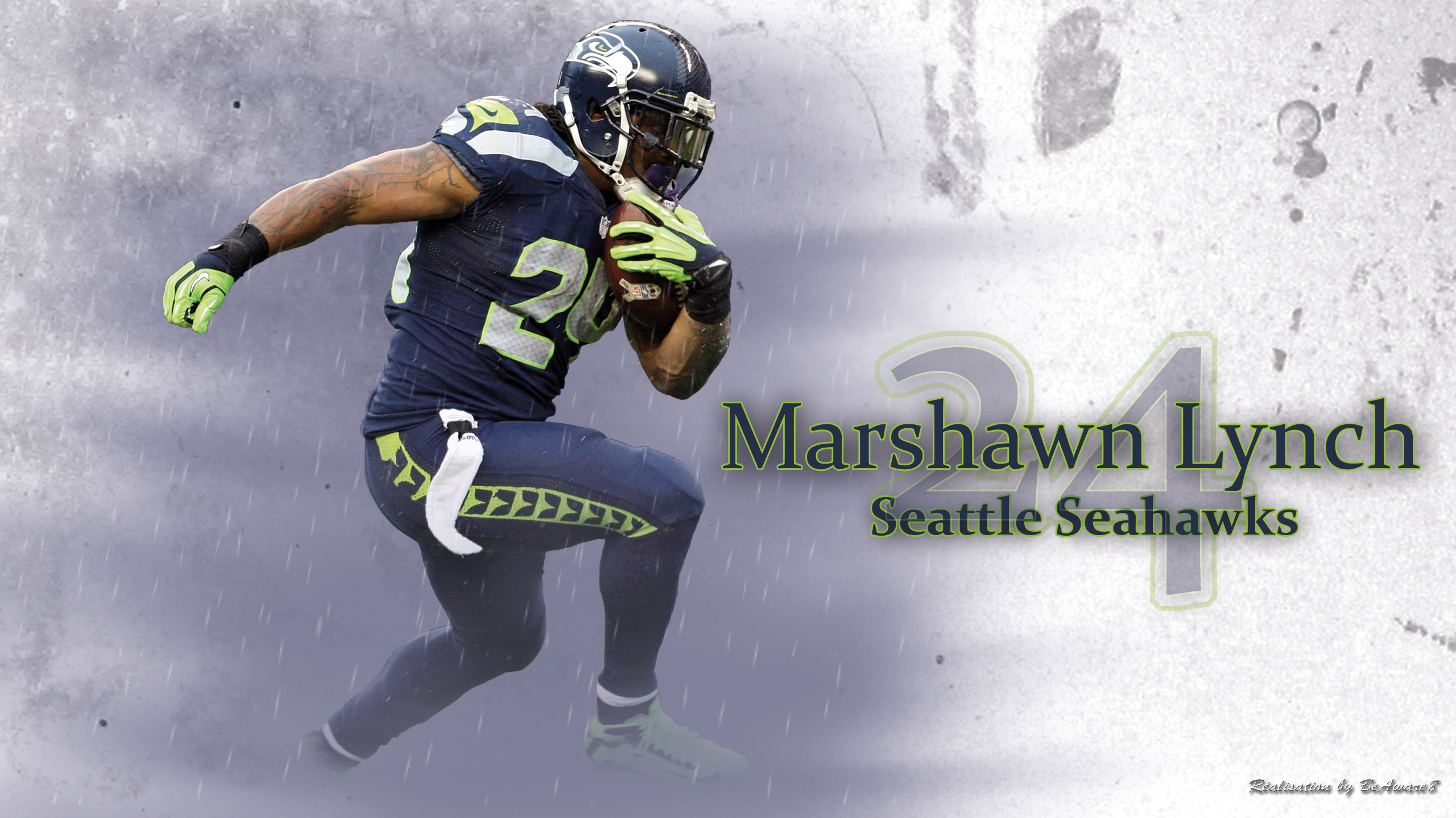 Marshawn Lynch By BeAware8