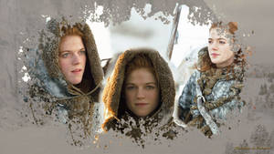 Ygritte kissed by fire