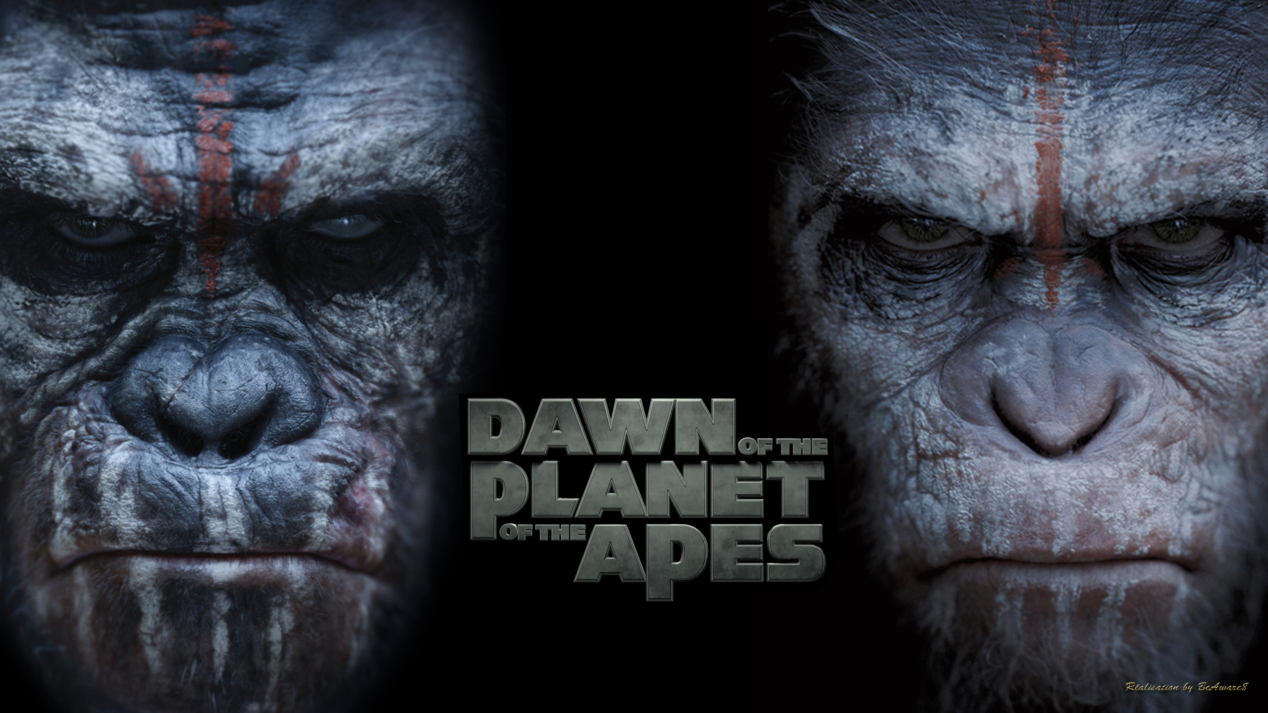 Dawn of the Planet of the Apes by BeAware8 on DeviantArt