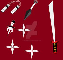 Ninja weapons!
