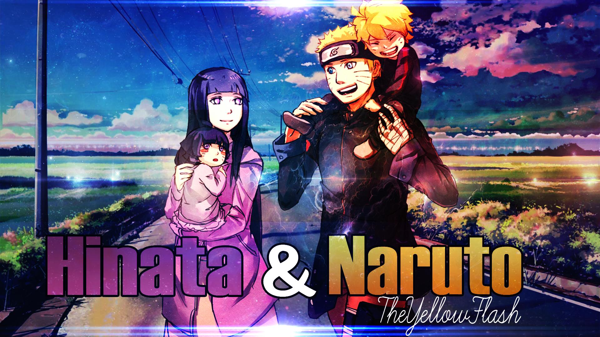 Naruto And Hinata [AMV] [Youtube Thumbnail] by TheYellowFlash1 on DeviantArt