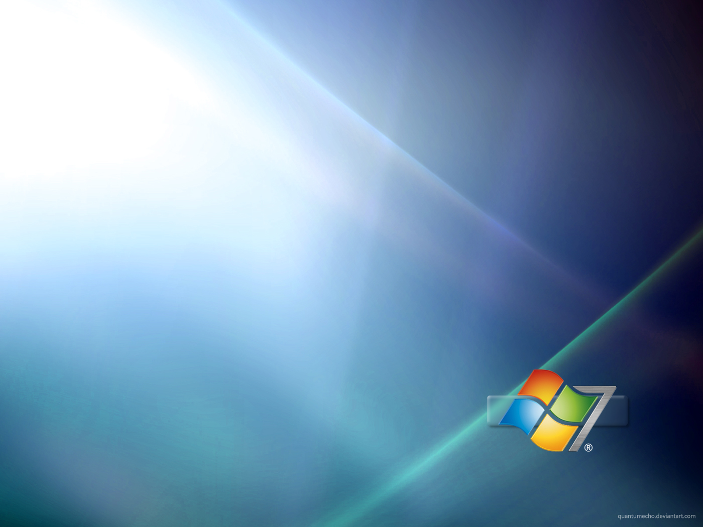 Windows 7 Wallpaper by QuantumEcho