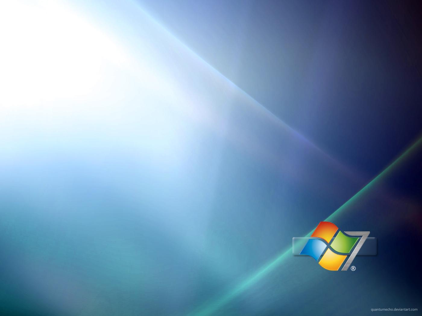 Windows 7 Wallpaper by QuantumEcho