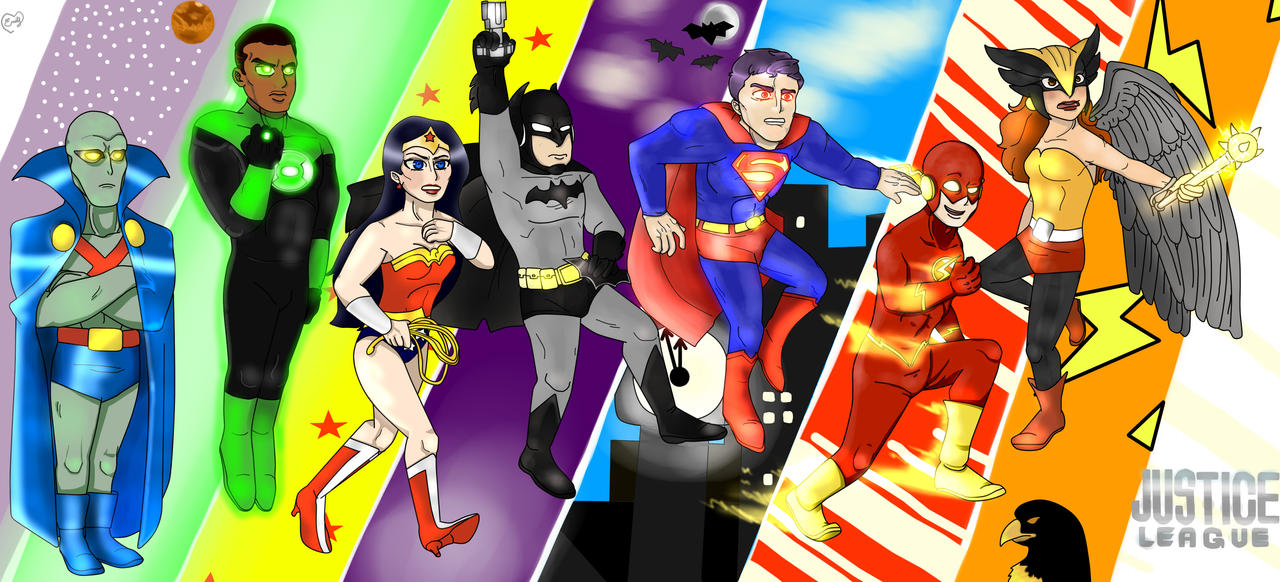 THE JUSTICE LEAGUE by emmyg917