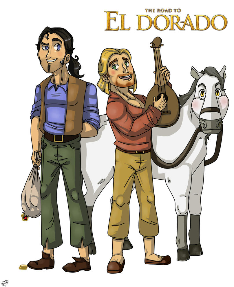 The Road to El Dorado by emmyg917