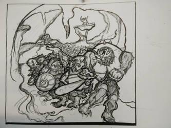 Mole Warriors - Sketch