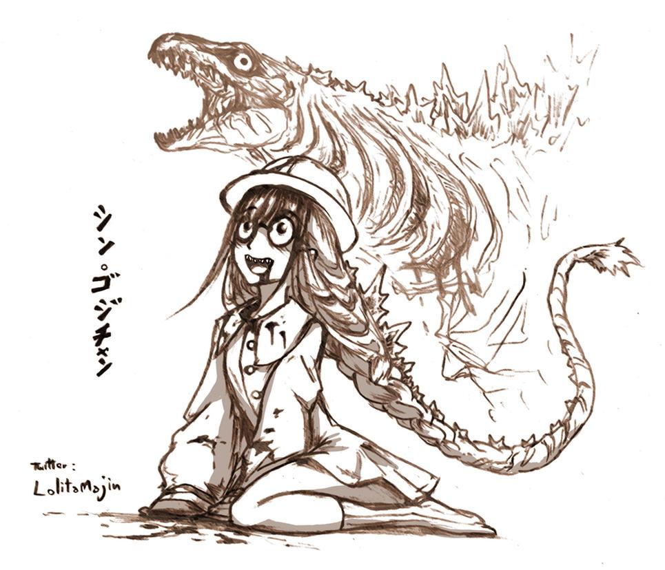 Shin Godzilla : Baby form by LolitaTenshin on DeviantArt
