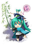 Tanabata 2018 Miku and Mikudayo