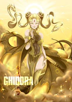 Ghidora (Godzilla) : Monster0 (My Kaiju Girls 3/4)