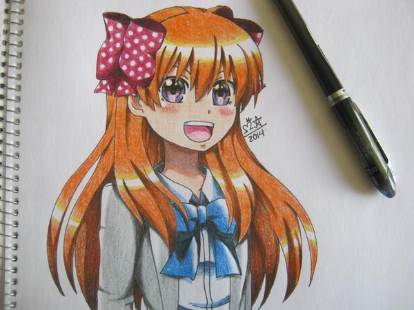Sakura Chiyo-Gekkan Shojo Nozaki-kun by MaroonAbyss