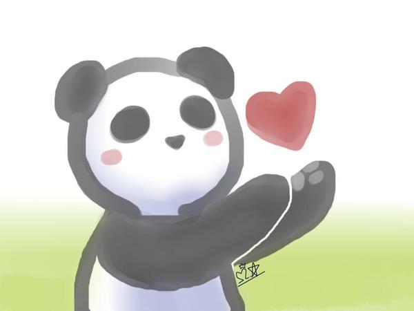 Panda by MaroonAbyss