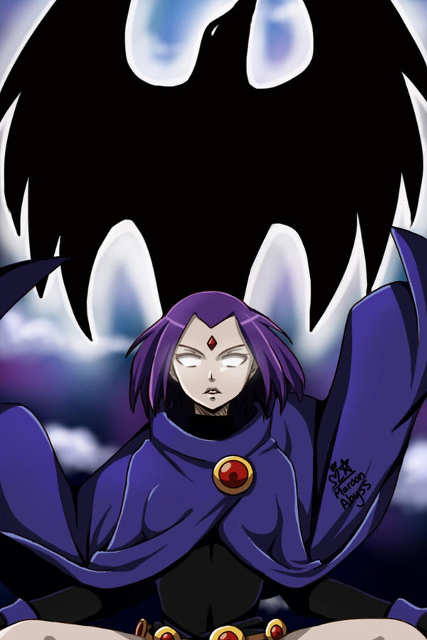 Raven by MaroonAbyss