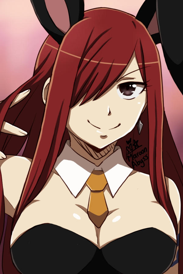 Erza Scarlet by MaroonAbyss