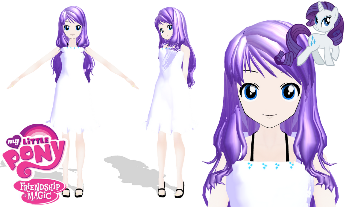 MMD : MLP Rarity WIP by Ayodan