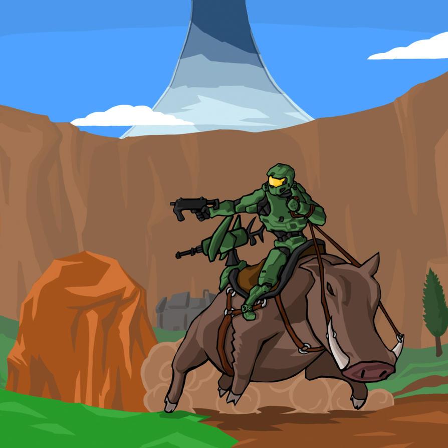 Halo: The Warthog by hidaihazo12