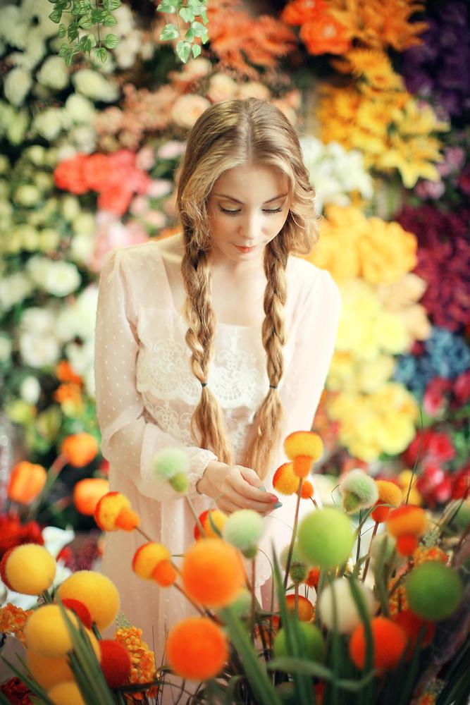 Phoebe XI ( in Flowerland ) by justJAZZ