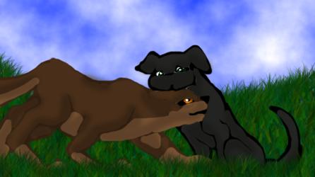 I love you my little dog by BahatiUpendo