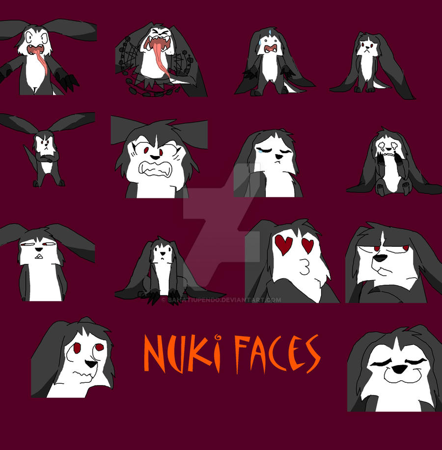 Many Faces of nuki by BahatiUpendo