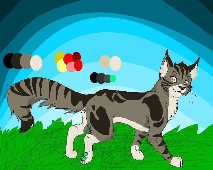 KIRAKI my OC of WARRIOR CATS by BahatiUpendo