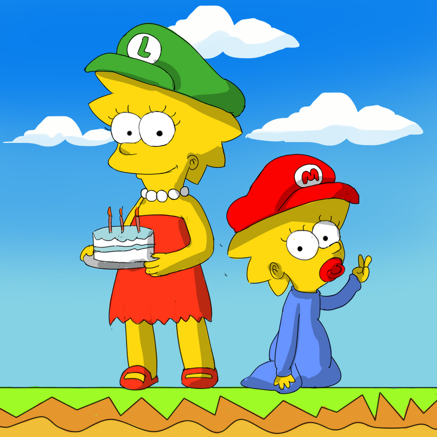 Happy Birthday MarioSimpson1 by mariobros123