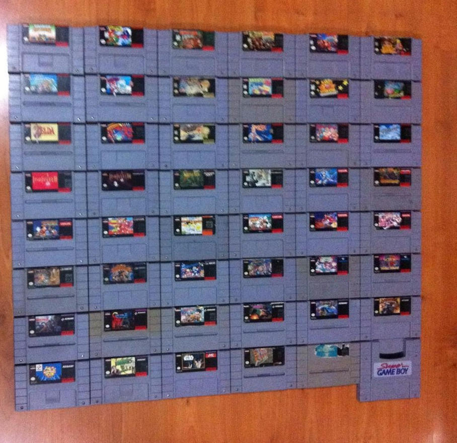 My SNES Collection (update 2016) by mariobros123