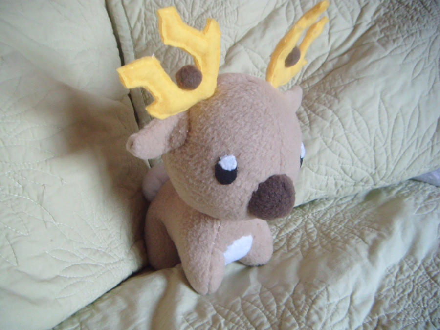stantler plushie by Plush-Lore