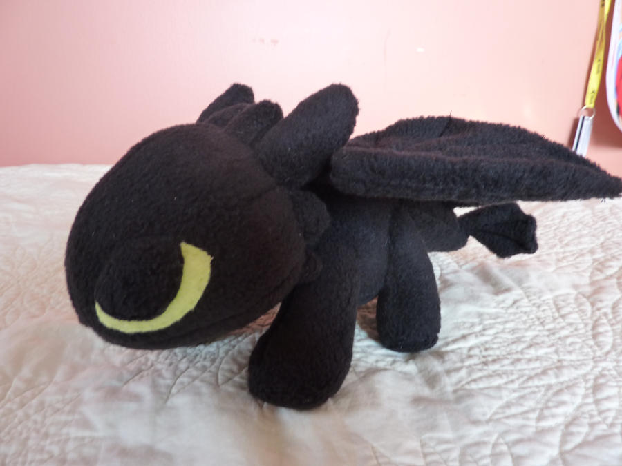 Toothless Plush-Commission by Plush-Lore