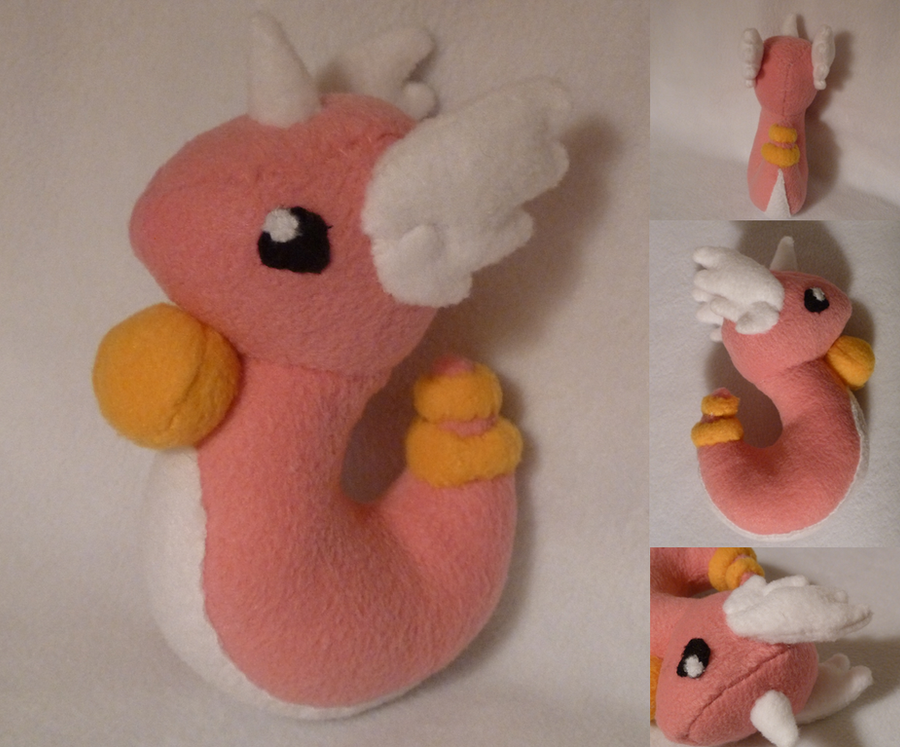 Dragonair Plush by Plush-Lore