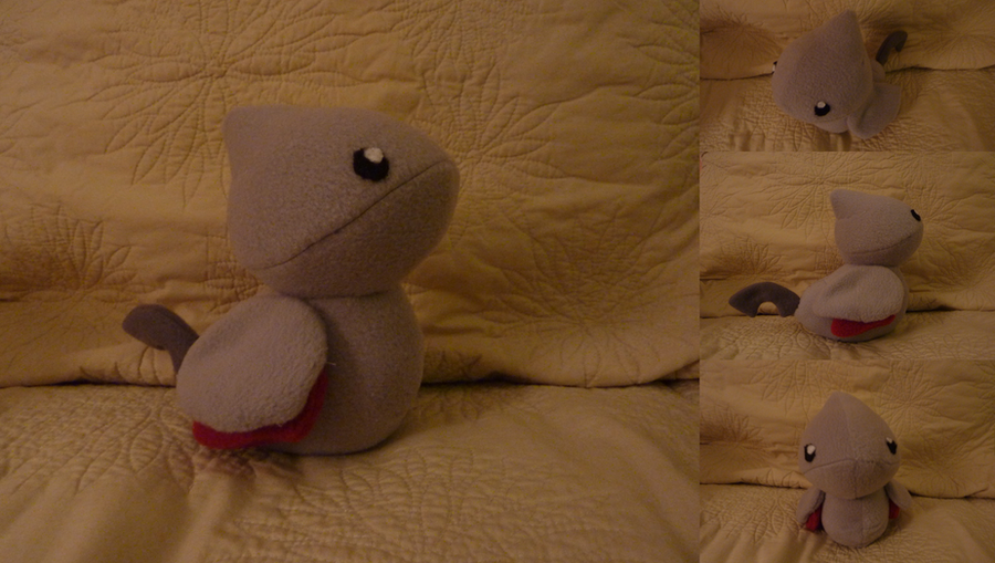 Skarmory Plush by Plush-Lore