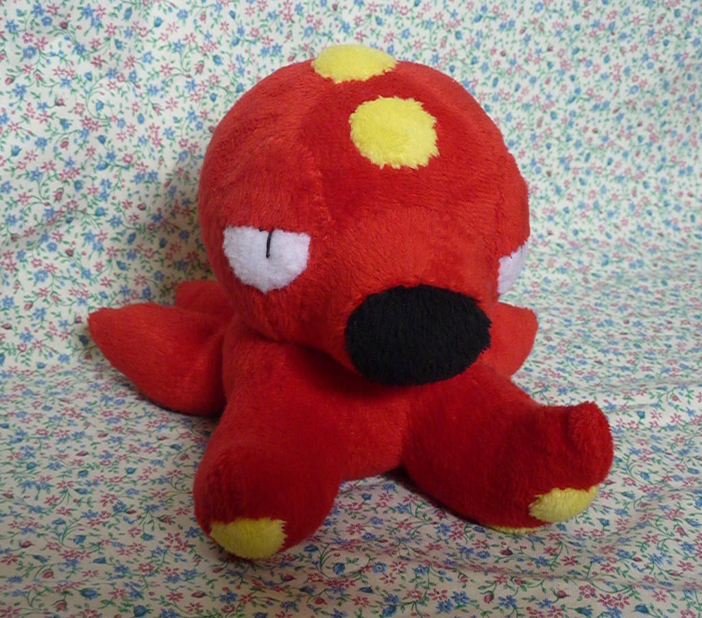 Octillery Plush by Plush-Lore